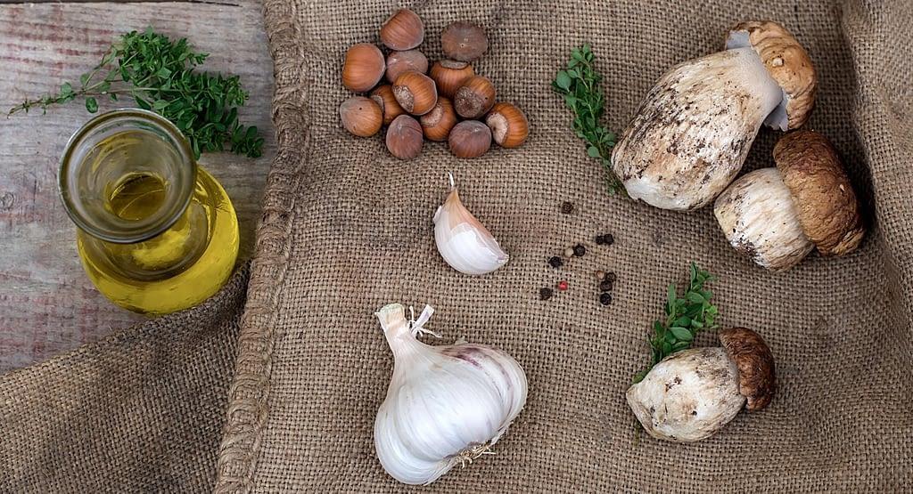garlic-mushrooms