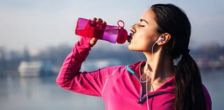 Staying hydrated while running